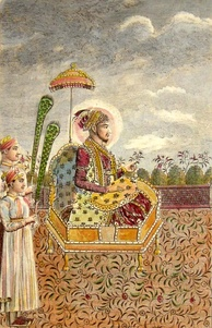 The Mughal Emperor Shah Alam II, who with his allies fought against the East India Company during his early years (1760–1764), accepted the protection of the British in the year 1803, only after he had been blinded by his enemies and deserted by his subjects