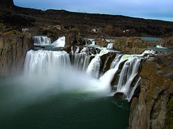 Shoshone Falls in south central Idaho