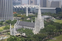 Saint Andrew's Cathedral in the Civic District has existed since 1836.