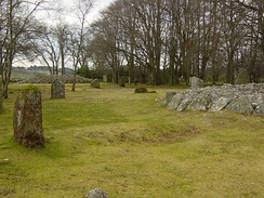 Clava cairns at Balnuaran of Clava