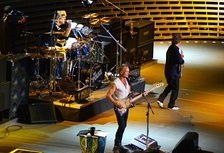 The Police performing at Madison Square Garden in 2007
