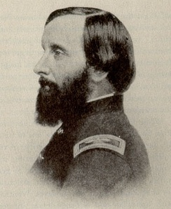 Thomas Wentworth Higginson in uniform; he was colonel of the First South Carolina Volunteers from 1862 to 1864.