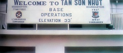 Headquarter of Seventh Air Force in Tan Son Nhut Air Base, Saigon, Republic of Vietnam.