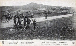 British soldiers in Kilkis, WWI