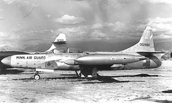 F-94C 50-980, about 1958, 109th Fighter-Interceptor Squadron