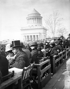 Grant's Tomb on inauguration day, April 27, 1897
