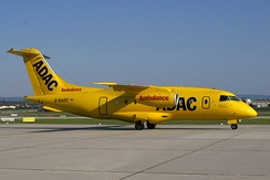 Fairchild Dornier 328JET Jet flying for the ADAC