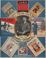 "Promotional Poster for Baum's ""Popular Books For Children"", c. 1901"