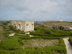 Bernhardt's converted fort on Belle-Île