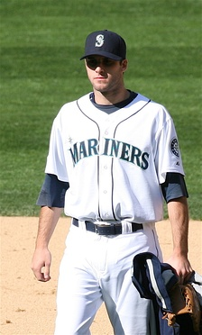 Morrow with the Seattle Mariners in 2007