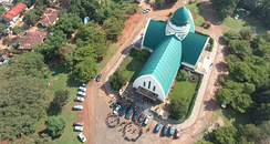Our Lady of Peace Cathedral in Bukavu