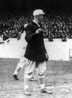 Mathewson with the New York Giants, c. 1913
