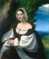 Корреджо «Женский портрет»