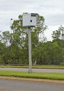 A red-light and speed camera in Darwin, Northern Territory, Australia