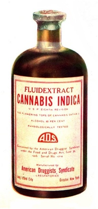 Cannabis indica fluid extract, American Druggists Syndicate (pre-1937)