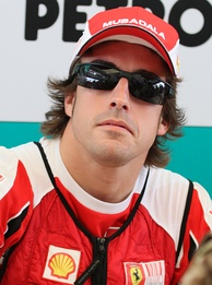 Fernando Alonso placed second in the Drivers' Championship