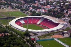 Red Star Stadium.