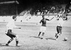 Hungary versus Great Britain at the 1912 Summer Olympics
