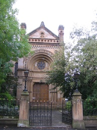 Garnethill Synagogue (built 1879) in Glasgow is the oldest synagogue in Scotland