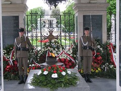 Tomb of the Unknown Soldier is an important central Warsaw landmark.