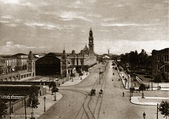 Luz Station in 1900