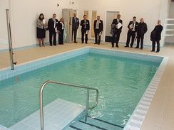 Opening of the new Hydrotherapy Pool, Manchester Royal Infirmary 2009