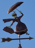 Jolly Holiday Weathervane (cropped)