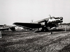 The only complete Junkers Ju 86 remaining, (1976)