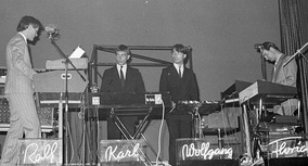 Kraftwerk performing in Zurich in 1976