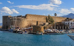 Kyrenia Castle was originally built by the Byzantines and enlarged by the Venetians