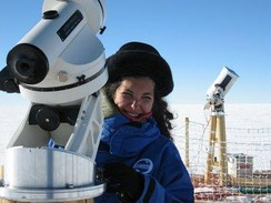 Merieme Chadid led an international scientific program to install a major astronomical observatory in Antarctica.