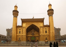 Imam Ali's Shrine in Najaf, Iraq, is one of the holiest sites in Shia Islam.