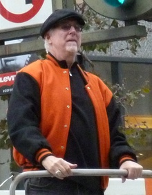 Mike Krukow at 2012 Giants victory parade.jpg