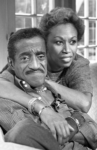 Although the ban on interracial marriage ended in California in 1948, entertainer Sammy Davis Jr. faced a backlash for his involvement with a white woman in 1957