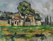 Paul Cézanne, Banks of the Marne, 1888