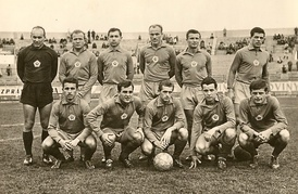 Slovan squad from 1963-64.
