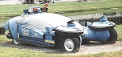 "A ""spinner"" (police variant) on display at Disney-MGM Studios in the 1990s"