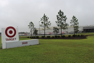 Target distribution center in Lake City, Florida.