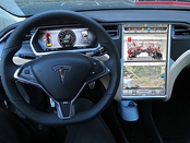 In-car entertainment system of the Tesla Model S is based on Ubuntu[117][118]