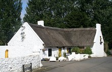 Traditional Irish cottage in Co. Antrim