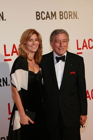 Bennett and wife Susan Crow at the opening of the Broad Contemporary Art Museum in Los Angeles in 2008