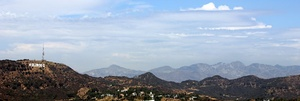 The Hollywood Hills and the Hollywood Sign