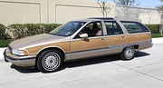 Buick Roadmaster Estate (1991-1996), the US' last full-sized station wagon