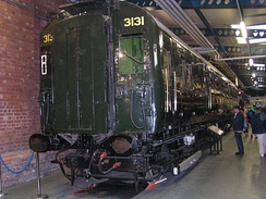 4COR unit no. 3131, at the National Railway Museum.