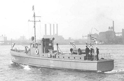 CG-100, a typical 75-foot patrol boat