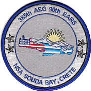 Squadron morale patch used at Souda Bay
