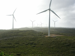 Wind farm at Albany
