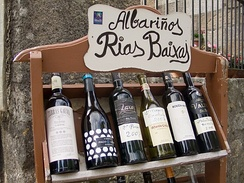 Some Galician wines
