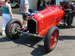 Alfa Romeo P3 Tipo B with Dubonnet front suspension