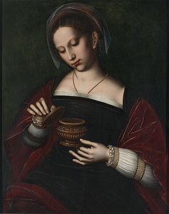 Mary Magdalene (early 1500s) by Ambrosius Benson
